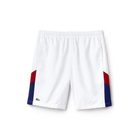 Herren-Shorts mit Colorblock-Band LACOSTE SPORT TENNIS