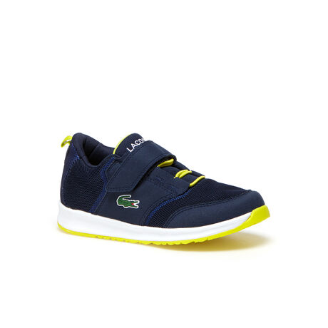 Kids' L.IGHT Breathable Canvas Klettverschluss Strap Sneakers