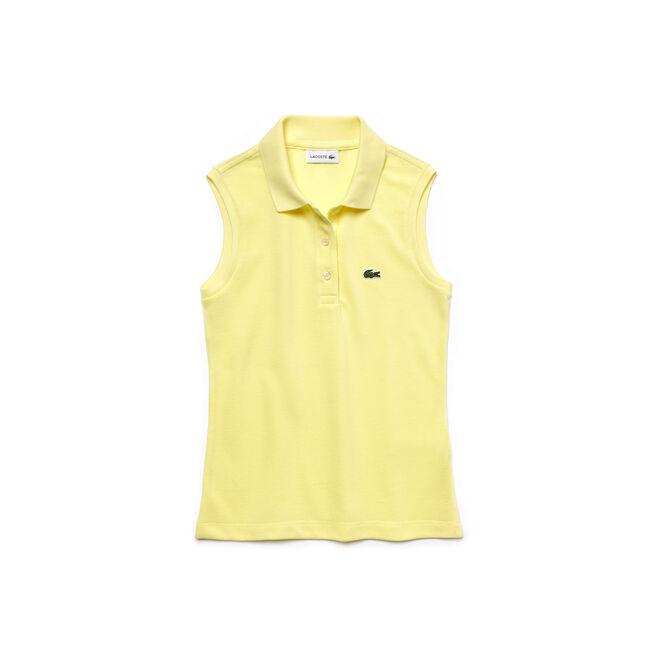 Girls' Piqué Polo