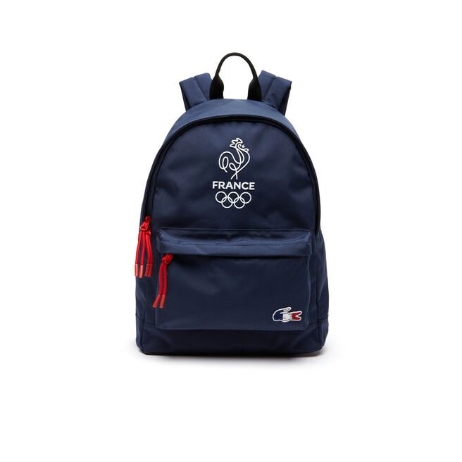 Lacoste SPORT backpack with French flag croc