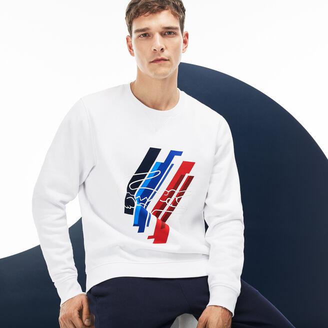 Men's Lacoste SPORT JO Edition Print Fleece Sweatshirt