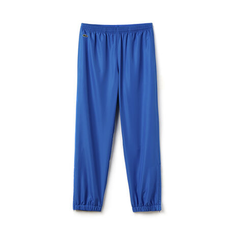 Men's Lacoste SPORT Tennis trackpants in diamond weave taffeta