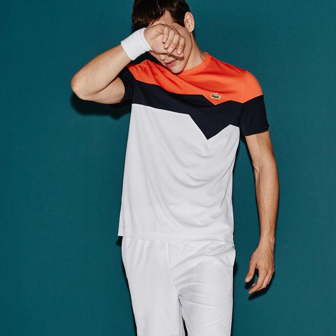 Men's Lacoste SPORT Tennis Colorblock Technical Piqué T-shirt