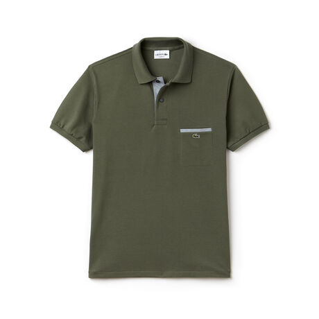 Lacoste L.12.12 polo with contrasting details