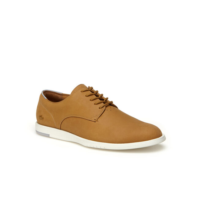 Men's Laccord Leather Derby Shoes