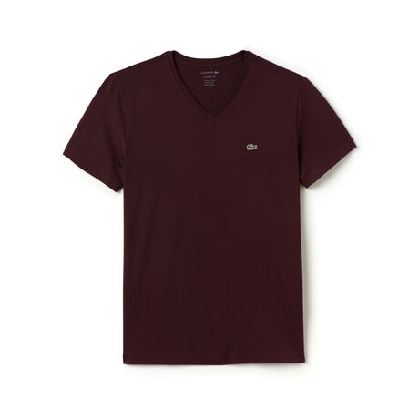 Men's Regular fit V-neck T-shirt in Pima cotton