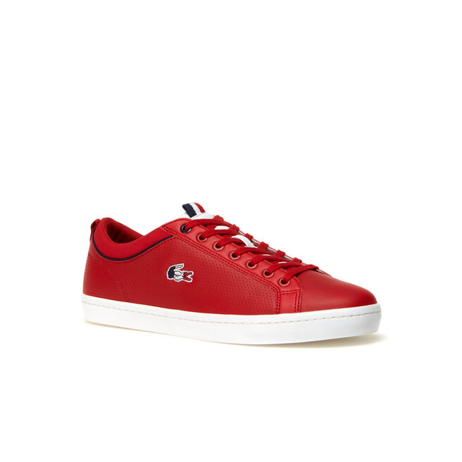 Men's Straightset SP Leather Trainers with tricolor croc