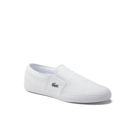 Zapatillas sin cordones Gazon de cuero para hombre