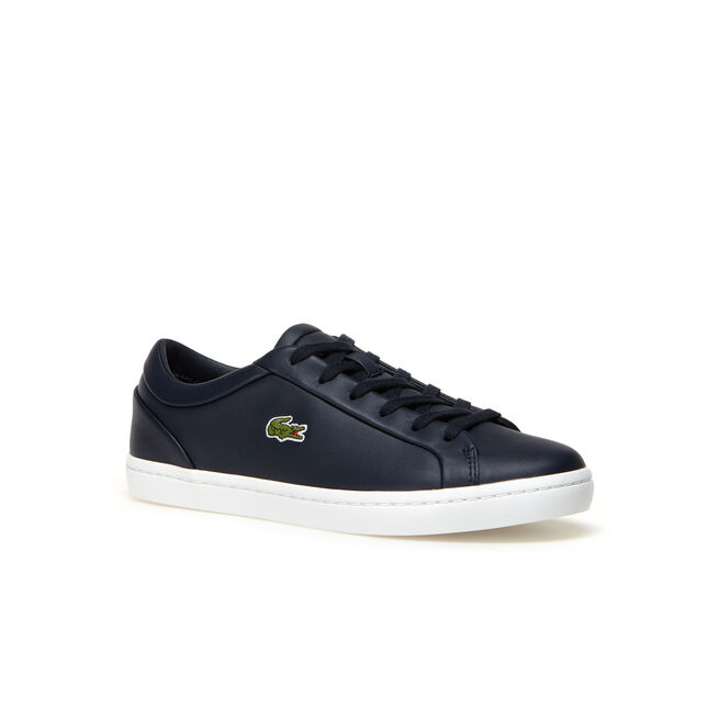 Women's Straightset Lace Leather Trainers