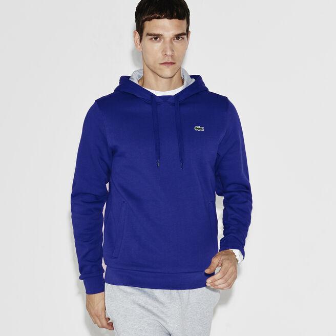 Sudadera de tenis de hombre de muletón con capucha Lacoste Sport