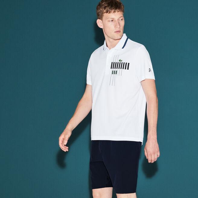 Polo Lacoste Collection pour Novak Djokovic - Exclusive Blue Edition