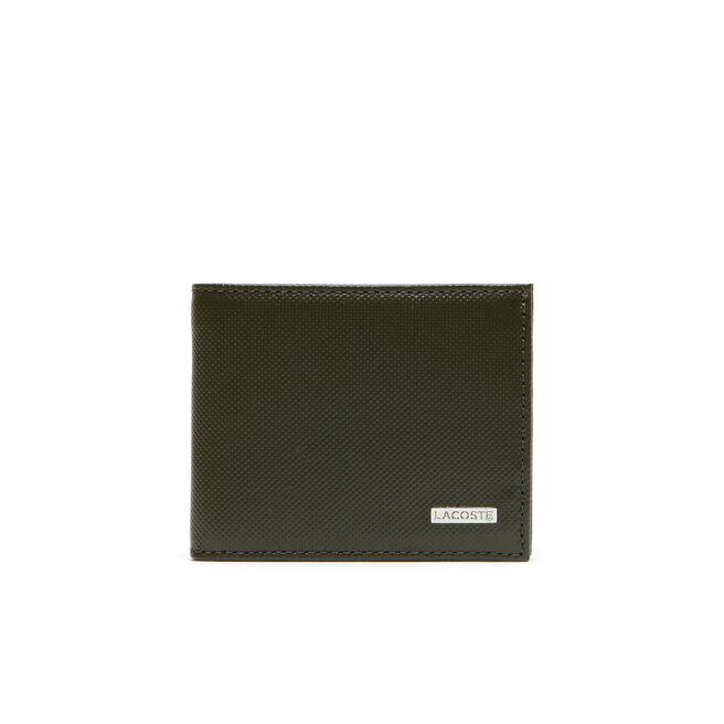 Porte-monnaie Edward en cuir bicolore 3 cartes - petit format