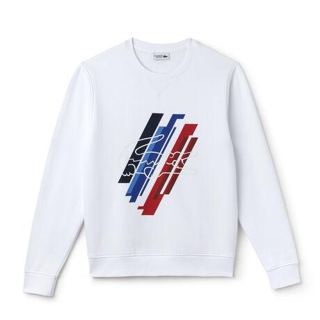 Sweatshirt Lacoste SPORT en molleton avec imprimé Édition JO