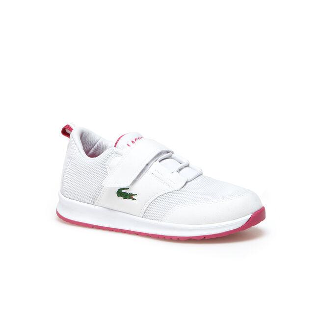 Sneakers Enfant L.IGHT en toile aérée à scratch