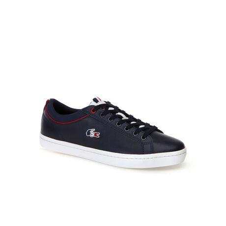 Sneakers Straightset SP en cuir avec crocodile tricolore