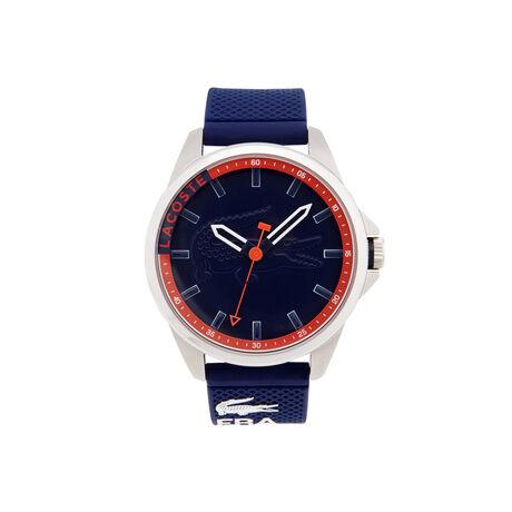 Montre Capbreton avec bracelet bleu en silicone