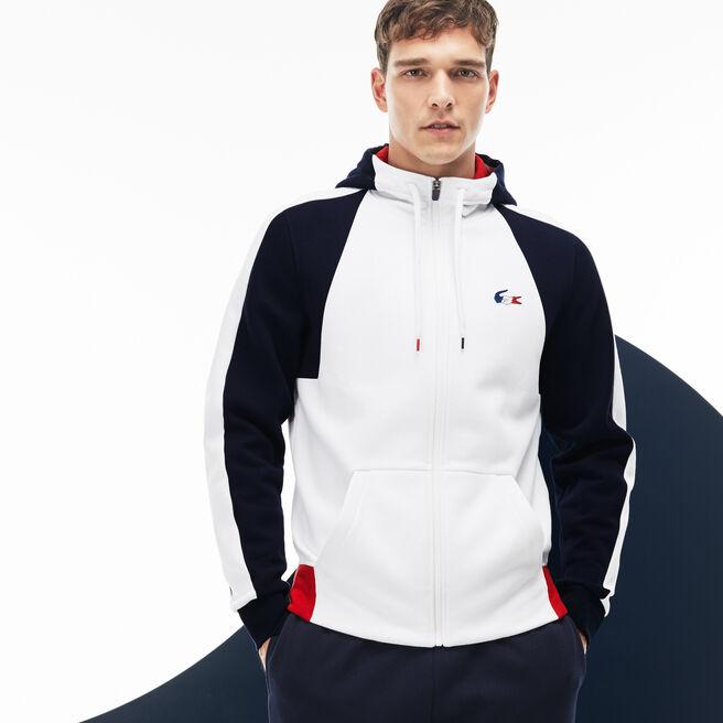 Sweatshirt Lacoste SPORT en molleton color block Édition JO