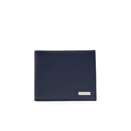Portamonete Edward in pelle bicolore 3 carte - formato piccolo