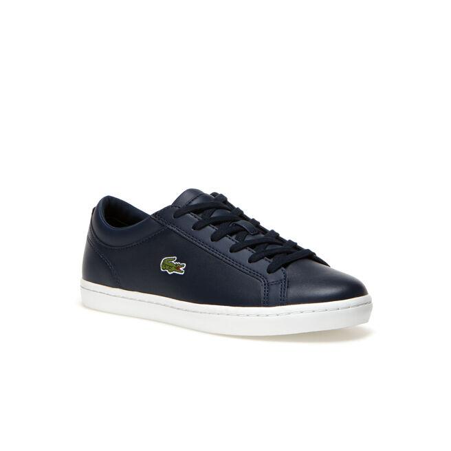 Sneakers Straightset BL in pelle