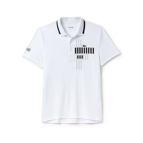 Polo Lacoste Collezione per Novak Djokovic -  Exclusive Blue Edition