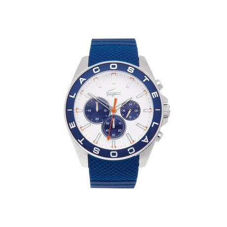 Orologio Westport con cronografo. Cinturino blu in silicone