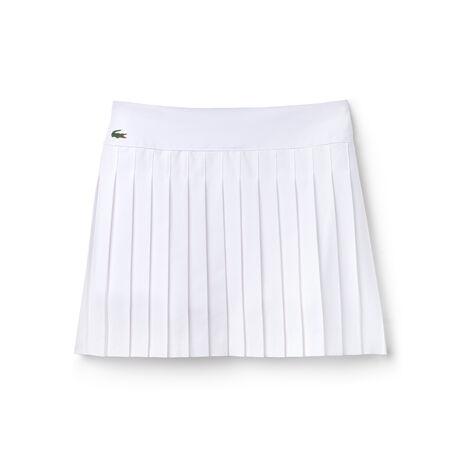Gonna plissettata Tennis Lacoste SPORT in maglia tecnica