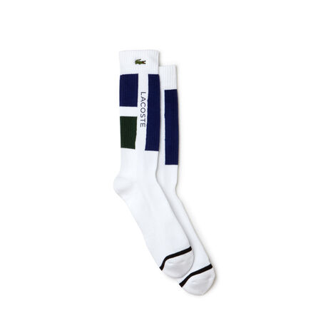 Calze Tennis Lacoste SPORT in jersey color block