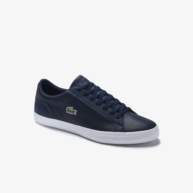 Sneakers Lerond in pelle monocroma