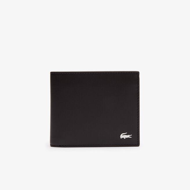 Portafoglio FG grande in pelle con portamonete
