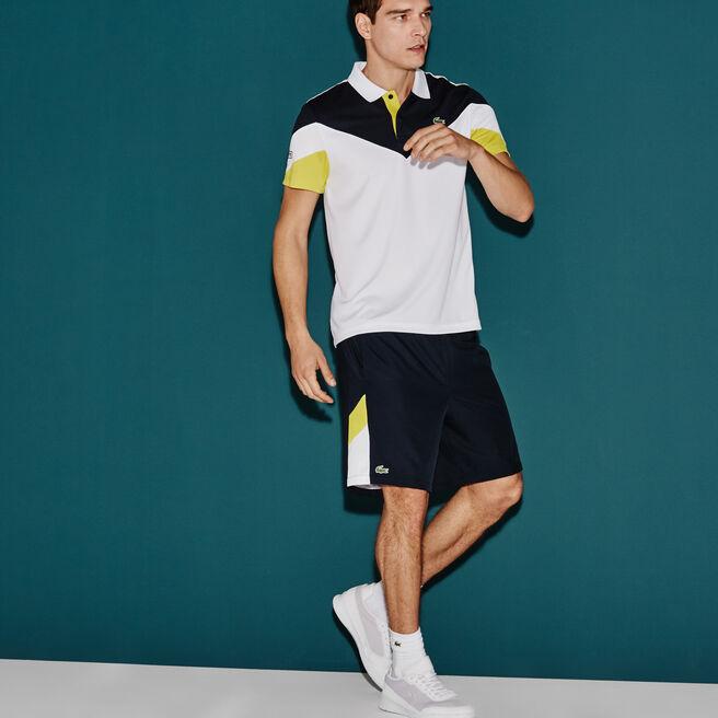 Pantaloncini Tennis Lacoste SPORT con fasce color block