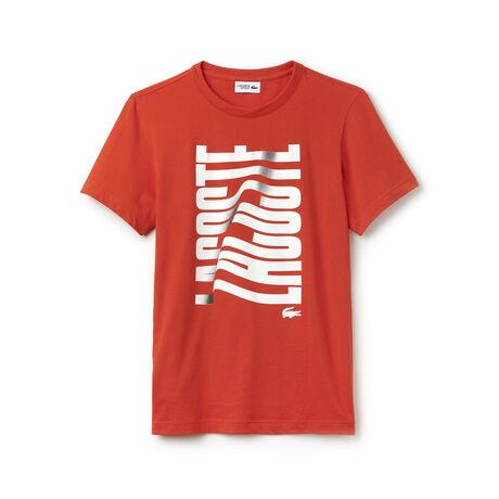 T-shirt Tennis Lacoste SPORT em jersey técnico com impressão Lacoste