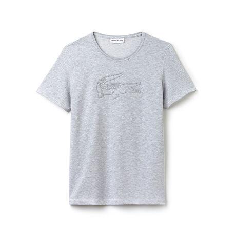 T-shirt Tennis Lacoste SPORT em jersey técnico com crocodilo bordado