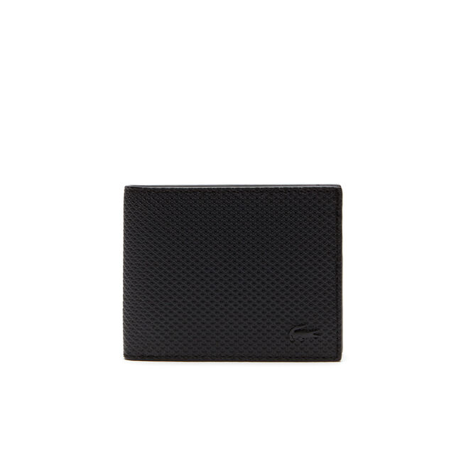 Men's Chantaco Monochrome Coated Leather Flat Wallet