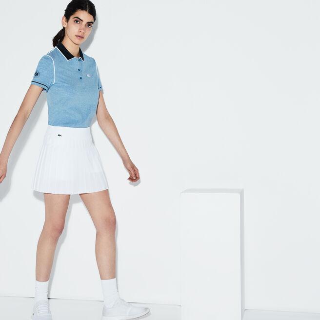 Women's Lacoste SPORT Tennis Technical Mesh Pleated Skirt