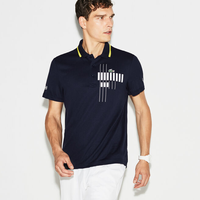 Polo Lacoste Collection for Novak Djokovic - Exclusive Blue Edition