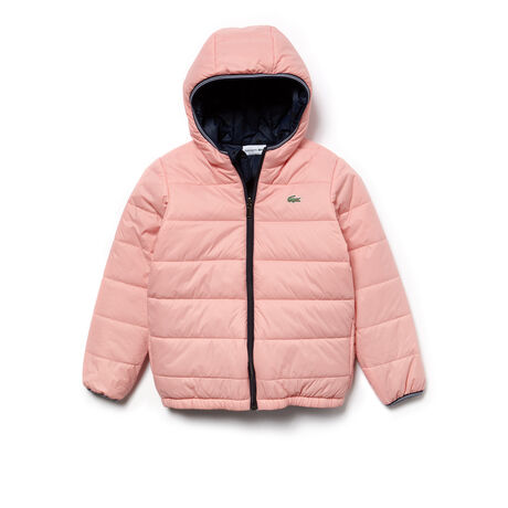 Boys' Reversible Bicolor Quilted Jacket